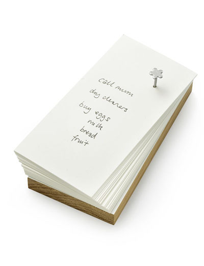 FlowerNail Notice Note Pad (via nonesuch things)