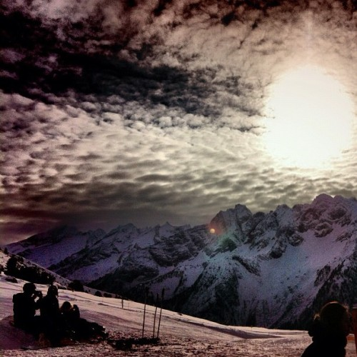 More mountain memories from last week..  (Taken with instagram)