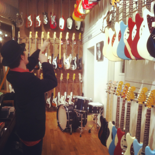 Cat acting like a kid in a candy shop!