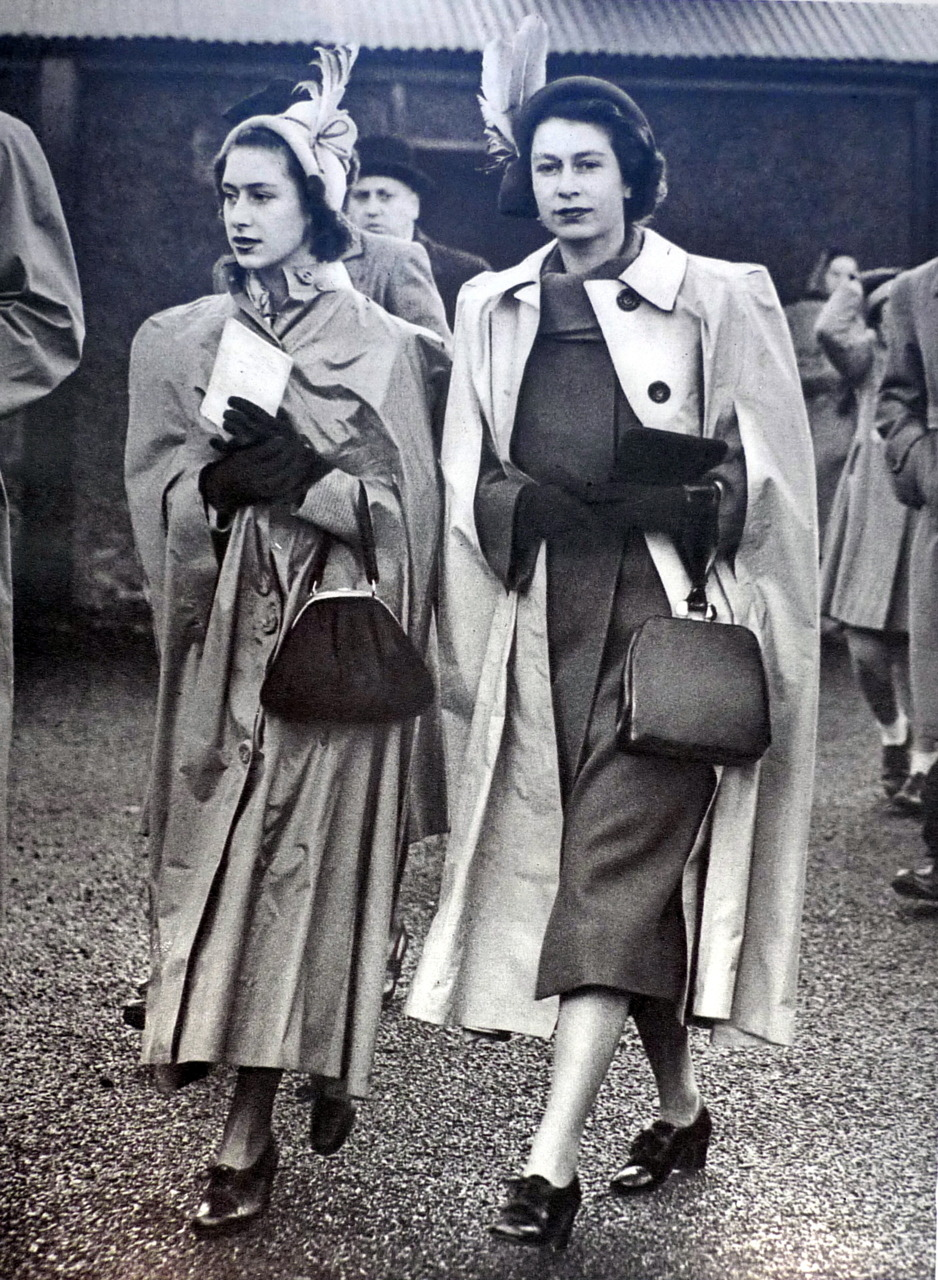Princess Margaret and Queen Elizabeth II