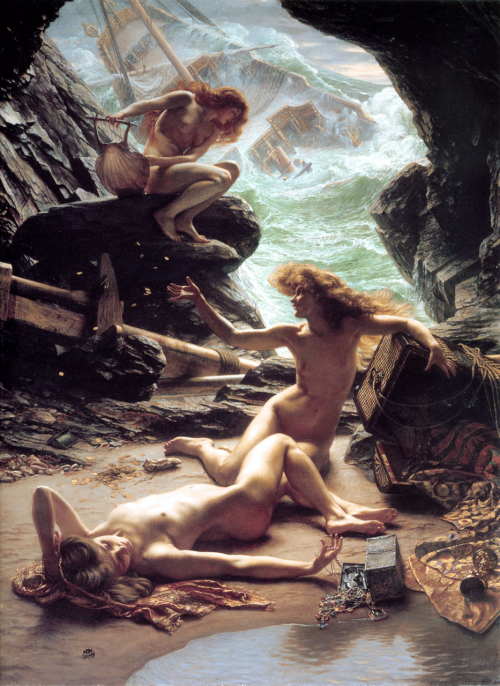 Sirens. This image is helpful for my classes. Sirens are brought up quite often… though at this moment I can't remember whyyyy.