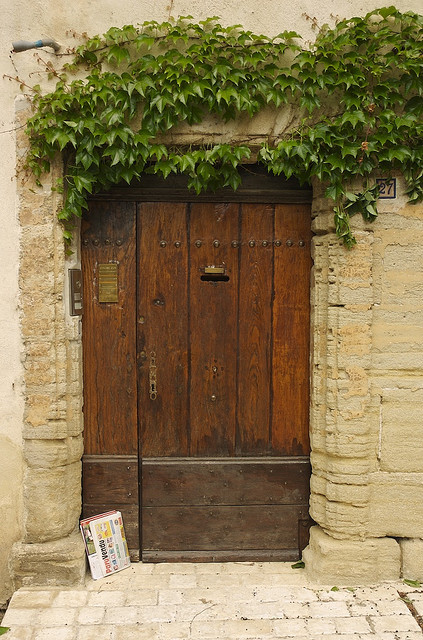 Doors of Provence by rhyndman on Flickr.