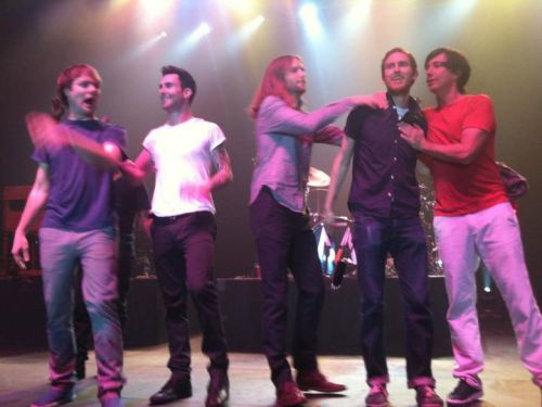 my favorite band! New Years Eve and my 140th Maroon5 show in Thackerville, OKI
