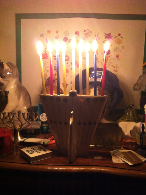From the last night of Hanukkah