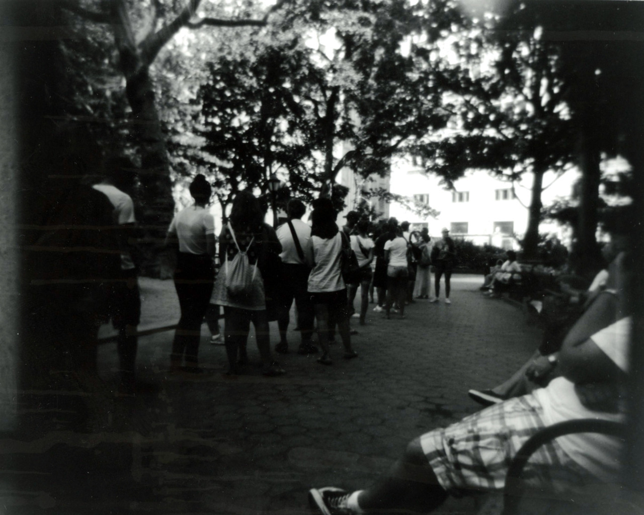 The Shake Shack Holga 120mm film This is the famous Shake Shack in New York City. I went this