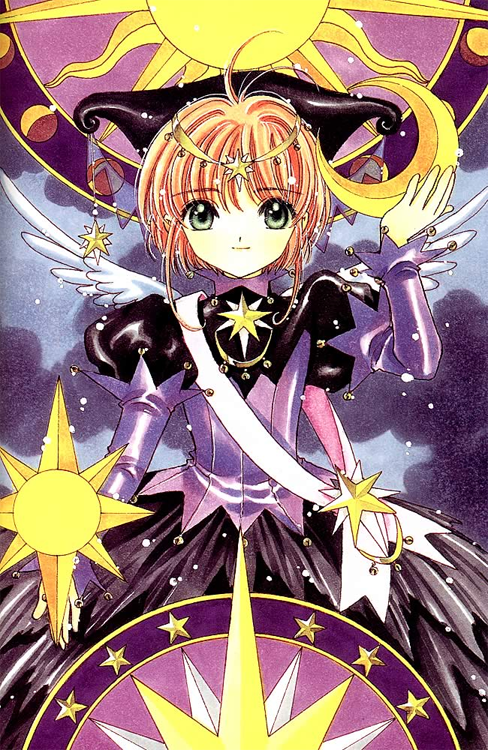 One of my favorite costume designs from CLAMP! Though really, they're all beautiful~!