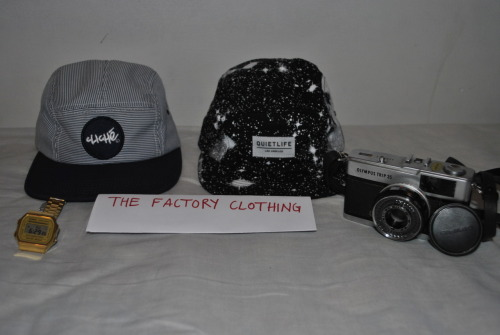thefactoryclothing:  GIVE AWAY I am giving away: Cliche 5 panel Quiet Life 5 panel Casio digital gold watch Olympus Trip 35 Rules:  Reblog as many times you want Likes count as a second entry You have to be following http://thefactoryclothing.tumblr.com/ Anyone can enter, there will be no shipping charges I will choose the winner when the blog has a certain amount of followers. The winner will be contacted through their ask box so make sure it is enabled.Goodluck.