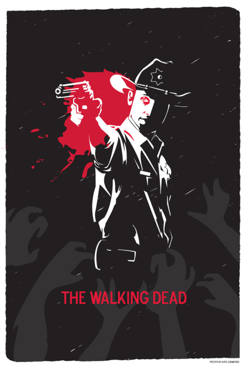 The Walking Dead by Katie Crawford
