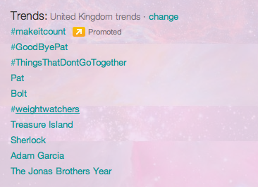SHERLOCK is TRenDING NATIoN WIDEEEe. (I HAVE LOST CONTROL OF mY CAPITALS)