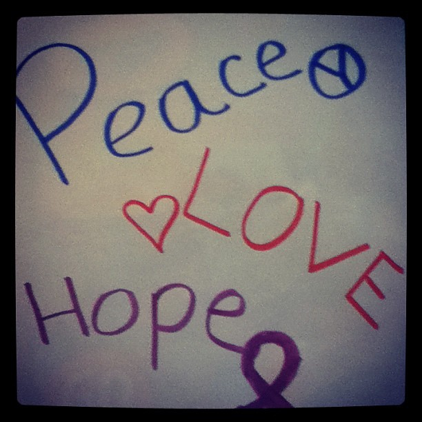 Peacelove hope  #love #hope #peace  (Taken with instagram)