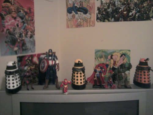 Various figures and toys. Probably about double this again in figures. Next up. … Lego!