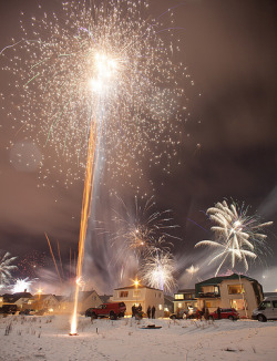 fuckyeahiceland:  Happy New Years 2012! (by Kiddi Kristjáns)