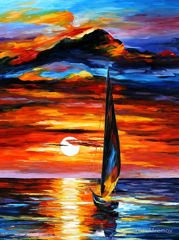 Towards the Sun by Leonid Afremov