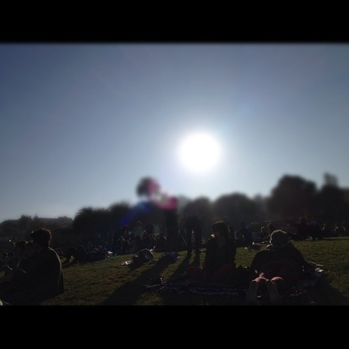 #dolorespark #mission #sun #sky (Taken with instagram)