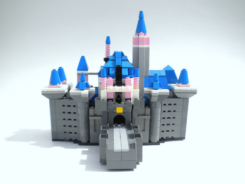 Sleeping Beauty Castle by wagner of the brick on Flickr.