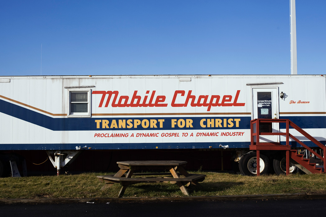 mobile chapel, transport for christ