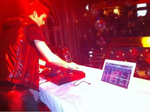 DJing on New Years Eve in West Hollywood
