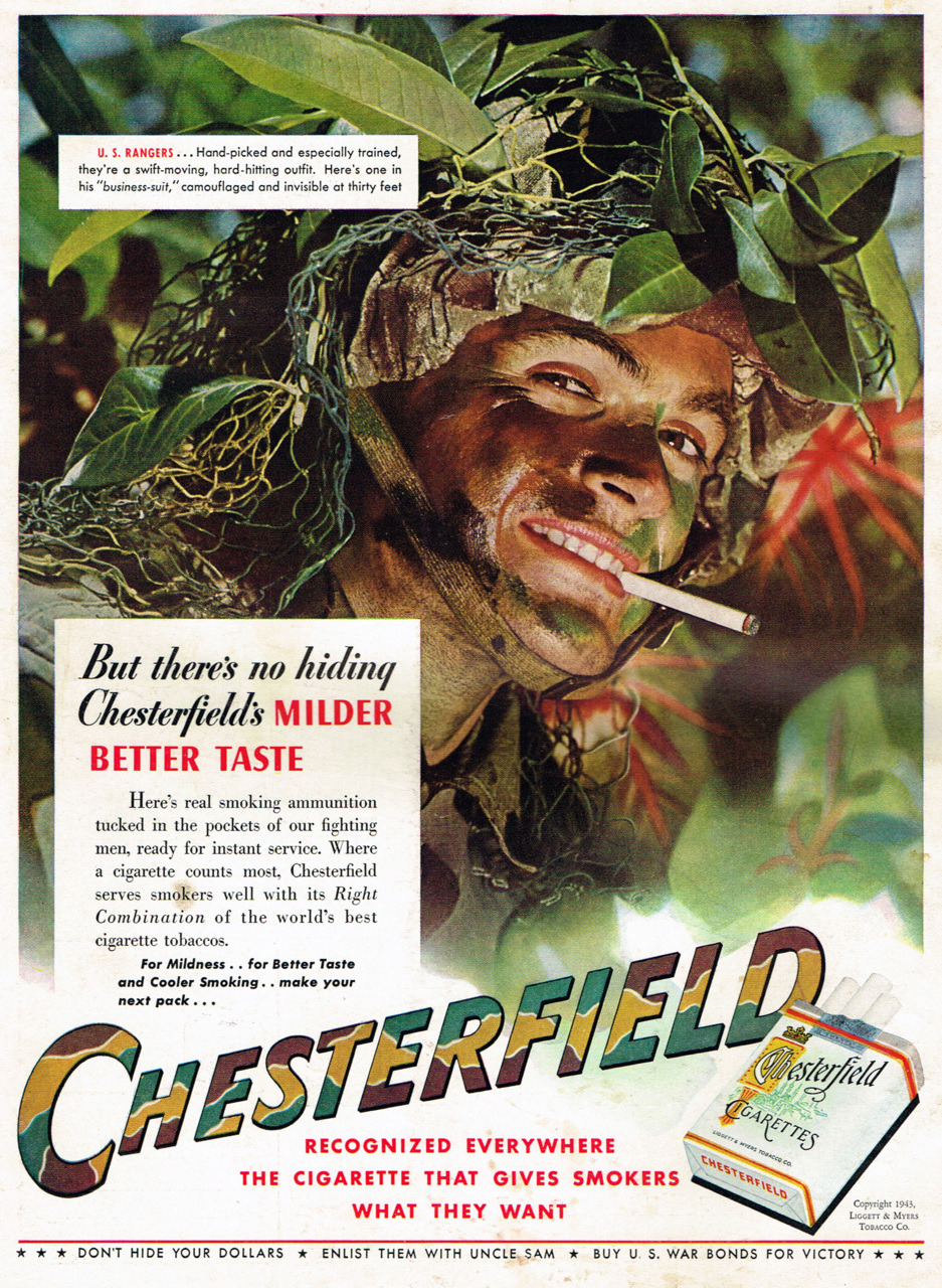 Chesterfield, 1943