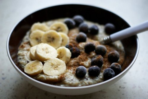 couragealways:  I have this for breakfast almost daily.