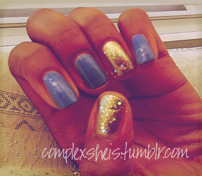 essie- lapis of luxury o.p.i- glitzerland nyx- prismatic gold