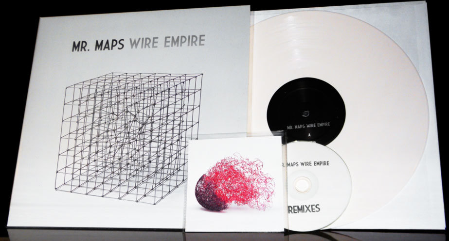 mr-maps:  Here it is. Wire Empire on white vinyl and an accompanying CD of remixes. The first batch have already been shipped to our pozible supporters, so if you are one of the many wonderful friends who pledged to help make this happen, your goodies are on the way. Thank you!For everyone else, the rest of the super limited run is available to order via the lofly store. Don't miss out!In other news, in the obligatory flourish of end of year lists and rankings, Wire Empire has wound up at #40 on the Mess and Noise critics' poll, Tennis Party has ranked #24 on 4zzz's hot 100 tracks of the year, and various other Mr. Maps bits are scattered through the various staff lists of Rave & Time Off Magazine. So a big thank you is owed to those journos and critics who've had our back over the years!Regardless of your belief of the importance of December 25th, we hope you had a mighty fine day, and may this mark the beginning of an exceptionally good year.