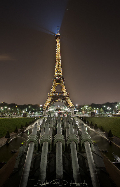 Eiffel Tower From Place du Trocadero - Paris France by DiGitALGoLD on Flickr.