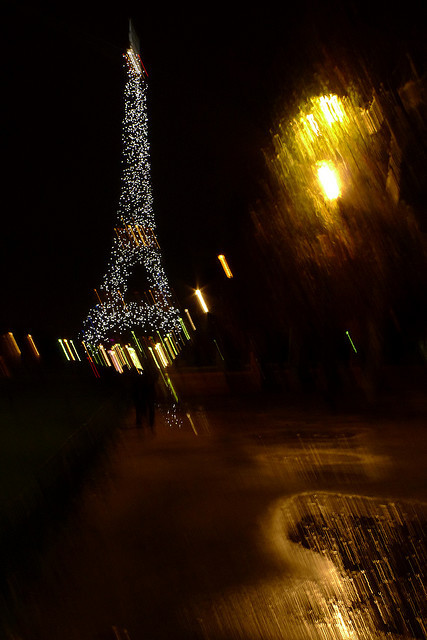 Eiffel tower by girolame on Flickr.