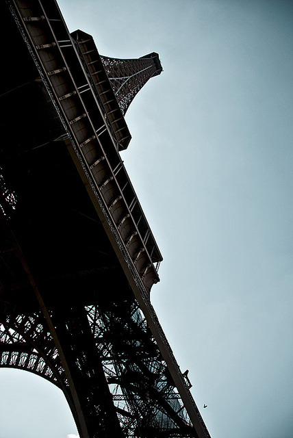 Eiffel at 15º by ilker Uzuner on Flickr.