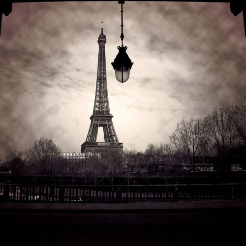 Eiffel's Light by Arivan B. on Flickr.