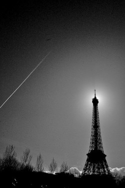 Eiffel Halo by willstotler on Flickr.