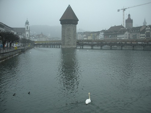 Lucerne, Switzerland. This is the major city I spent the most time in.