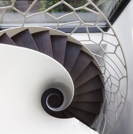 """The Cells"" - an amazing spiral staircase located in a home in Le Havre, France (via Homes With Amazing Staircases - Yahoo! Real Estate)"