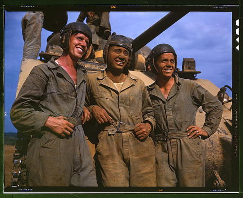 M-4 Tank Crew from Ft. Knox.