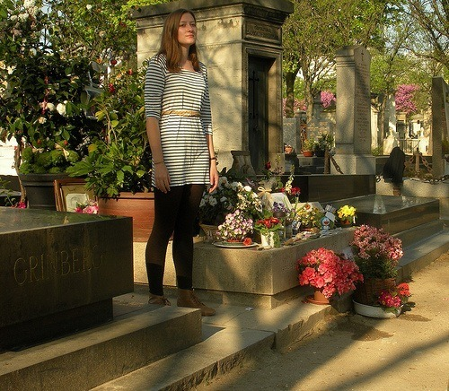 Paris, at the grave of Serge Gainsbourg.