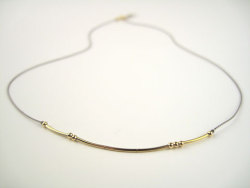 "morse code necklace by [coatt], $36*this one reads ""love"". :)"