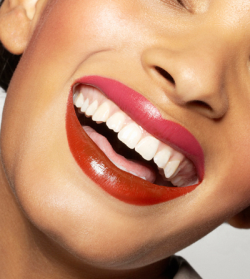 diy of the day: two toned lips!how much fun is this?! pairing two coordinating lip colors, playing with glossy and shimmering tones. LOVE THIS! i'm thinking of pairing a deep maroon with burnt orange or dark burgundy with chocolate brown. oh the fun we'll have! ( via refinery)