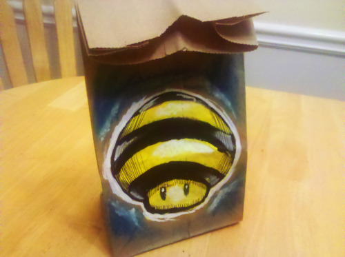 lunchbagart:  Bee Suit