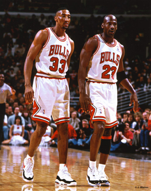 Pippen & Jordan. Greatest 1-2 Combo EVER!