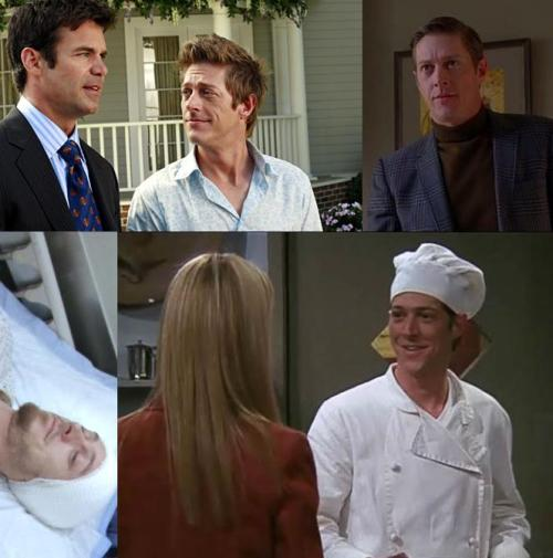 Kevin Rahm has been seen most recently as Lee McDermott on Desperate Housewives but he has also appeared on Mad Men as Ted Chaough (a man working for a rival firm), on Grey's Anatomy as Mr. Duff (a patient in season 1 who claimed to be psychic), and on Friends as Monica's helpless sous-chef on whom Phoebe develops a crush. Thanks for the submission, toomuchtvtofunction! Your username explains a lot about this post. ^_~ Follow us on Twitter @ISpyAFamousFace!