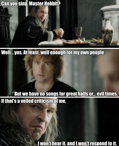 This blog truly would not exist without Denethor.