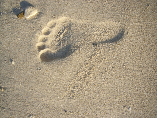 This Footstep… Engraved or Embossed?