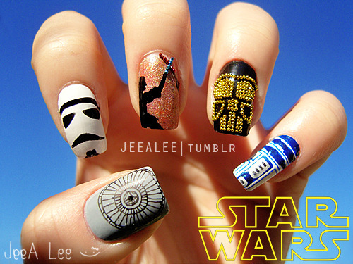 Star Wars Nails