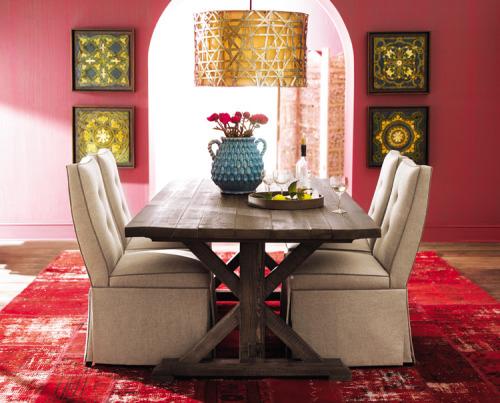 My Bohemian Home ~ Dining Rooms  I'm in love. Damn you, Horchow.