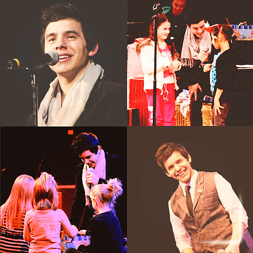 "David Archuleta ""My Kind Of Christmas Tour"" from VIP Nation :)"