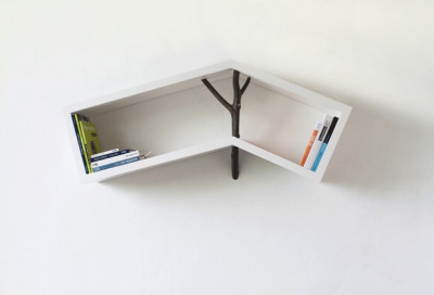 Beautiful shelf by Veronika Paluchova