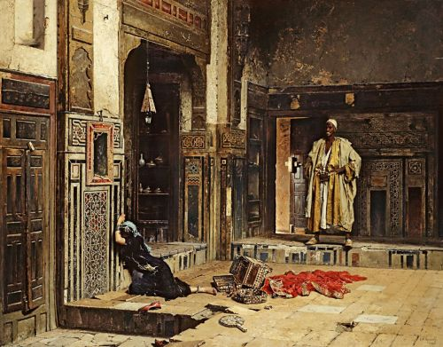 artandopinion:  Bought for the Harem 1891 Aleksandr Russov