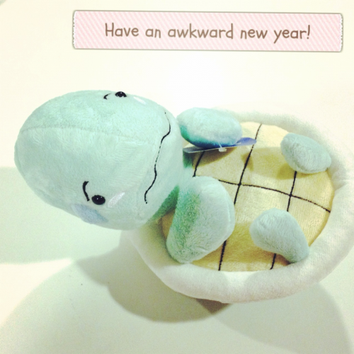 Have an awkward new year!