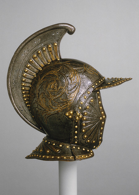 lalitab:  Parade helmet à l'antique, ca. 1620–30French (possibly Paris)