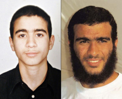 "leptiir:  Above is a picture of Omar Khadr, abducted at 15, now 25 years old, he has spent a third of his life at Guantánamo Bay for a crime he never committed.   ""Khadr is accused of throwing a grenade that killed a U.S. soldier in 2002 and conspiring with Al Qaeda. There is no credible evidence to substantiate the charges, some of which date to when he was 11 years old. Charges were not even brought against him until 2007. If convicted, the Obama administration will seek a life sentence for Khadr, prosecutor David Iglesias indicated. Army Col. Pat Parrish, the tribunal's presiding judge, on Monday denied defense appeals to bar confessions Khadr made under torture. In hearings held in May an unnamed U.S. military officer admitted that his interrogation unit threatened to gang rape and kill Khadr if he did not cooperate with an interrogation session at Afghanistan's notorious Bagram air base in 2002. A U.S. military psychiatrist has said that Khadr, who has now spent a third of his life at Guantánamo, is under extreme psychological stress after years of living through torture, abuse and appalling conditions. He has been subjected to stress positions, beatings, humiliations—including being used as a ""human mop"" to clean up urine, threatened attack with dogs, long periods of extreme isolation and sensory as well as sleep deprivation. (Read more here)  How come we barely hear about cases like these in the news? If it happend to a white christian male, we would constantly hear about it, but when it happens to a muslim from Afghanistan, silence.  Omar Khadr has himself said:   Khadr wrote to his Canadian attorney Dennis Edney, on May 27. ""And if the world doesn't see all this, to what world am I being released to? A world of hate … and discrimination.""   Lt. Col. Frakt has said:  ""It is appalling that the Obama administration is allowing charges to go forward in the military commissions against Omar Khadr. Clearly, Omar Khadr, as a juvenile of 15 at the time of his alleged offences, could not be tried as an adult in federal court, so they are allowing him to be tried as an adult in the military commissions, potentially making him the first child soldier to be tried and convicted as a war criminal in world history."" (Read more here)    It's a war against Muslims and more importantly Islam!"