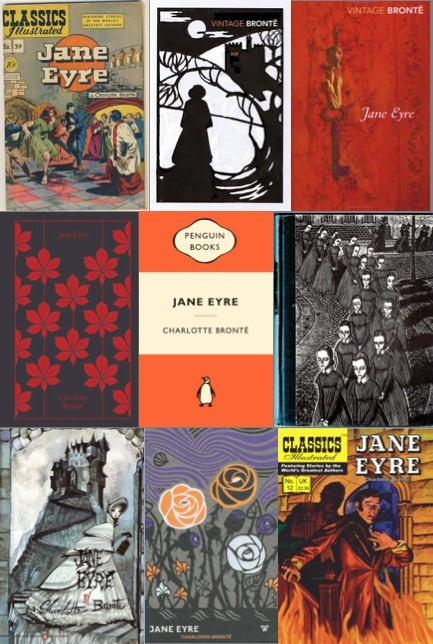 harrietvane:  Jane Eyre - real and proposed covers